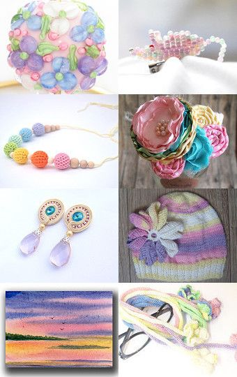 Rainbow by SandyCasp on Etsy--Pinned with TreasuryPin.com