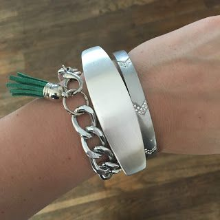 The Bracelet in the Middle holds your Fitbit Flex! | bybmg: Fitbit Style by FUNKtional Wearables
