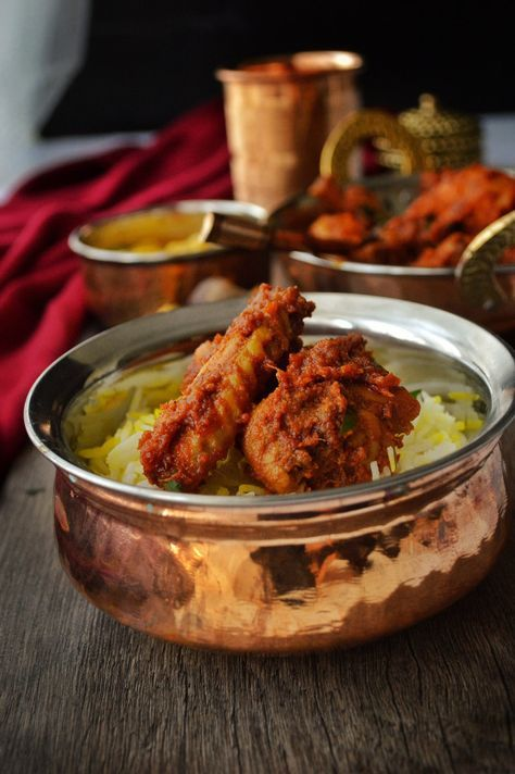 This spicy and delicious chicken ghee roast is a speciality dish of Mangalore.