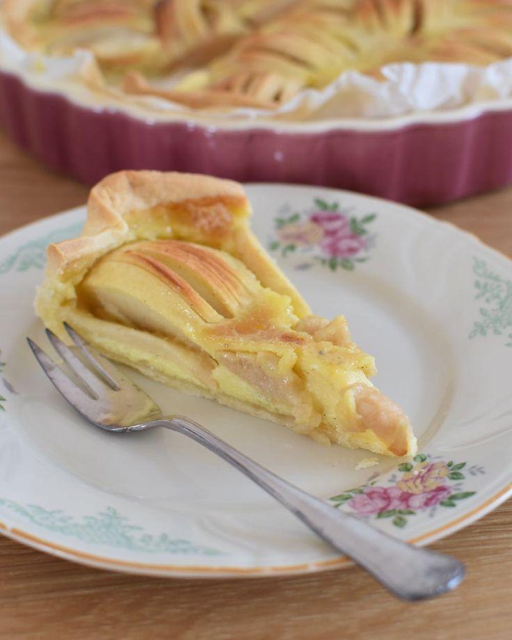 miris jahrbuch: Mein Lieblingsapfelkuchen: Elsässer Apfel-Rahm-Kuchen