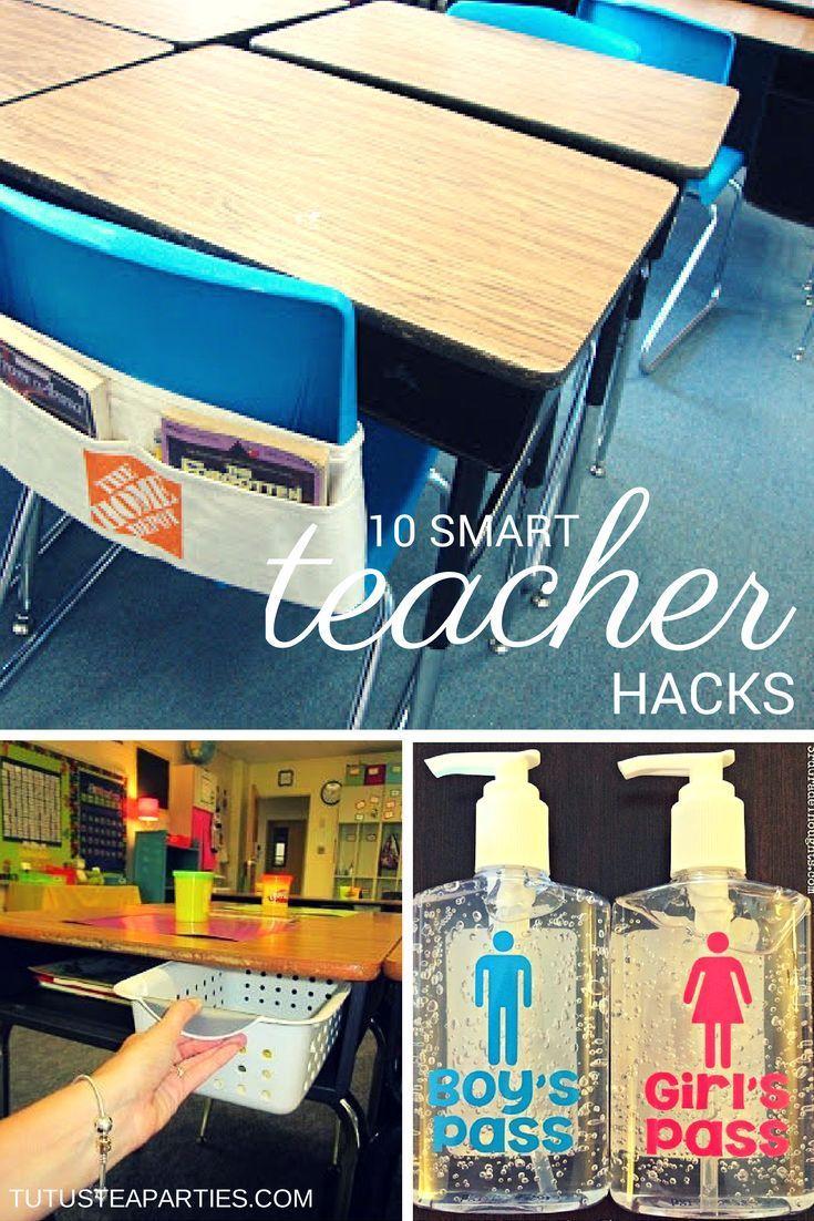 Classroom Decor Hacks ~ Brilliant tips for your classroom printable teacher
