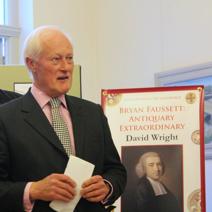 John Owen, Chairman and Co-founder of Faversham Historians.  At the launch.
