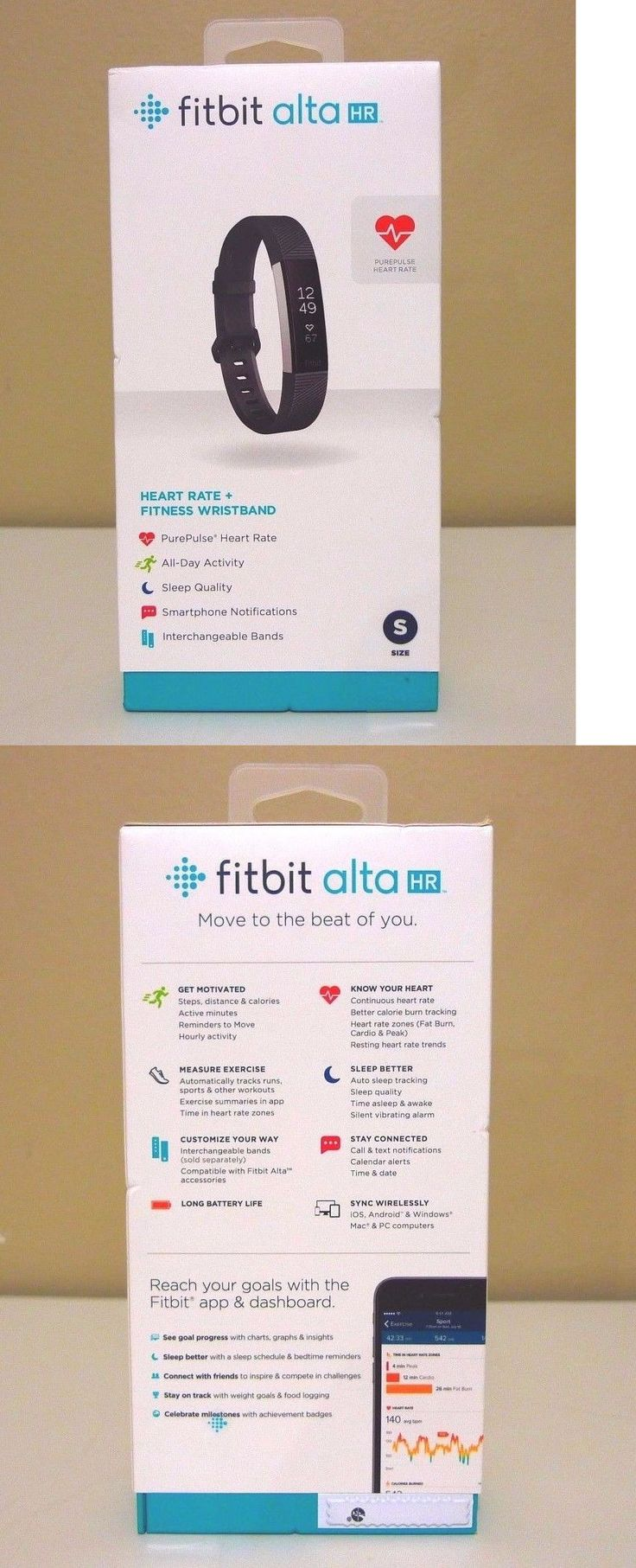 Activity Trackers 179798: Fitbit Alta Fitness Wristband Activity And Sleeping Tracker Fb406bks- New Sealed -> BUY IT NOW ONLY: $109.99 on eBay!