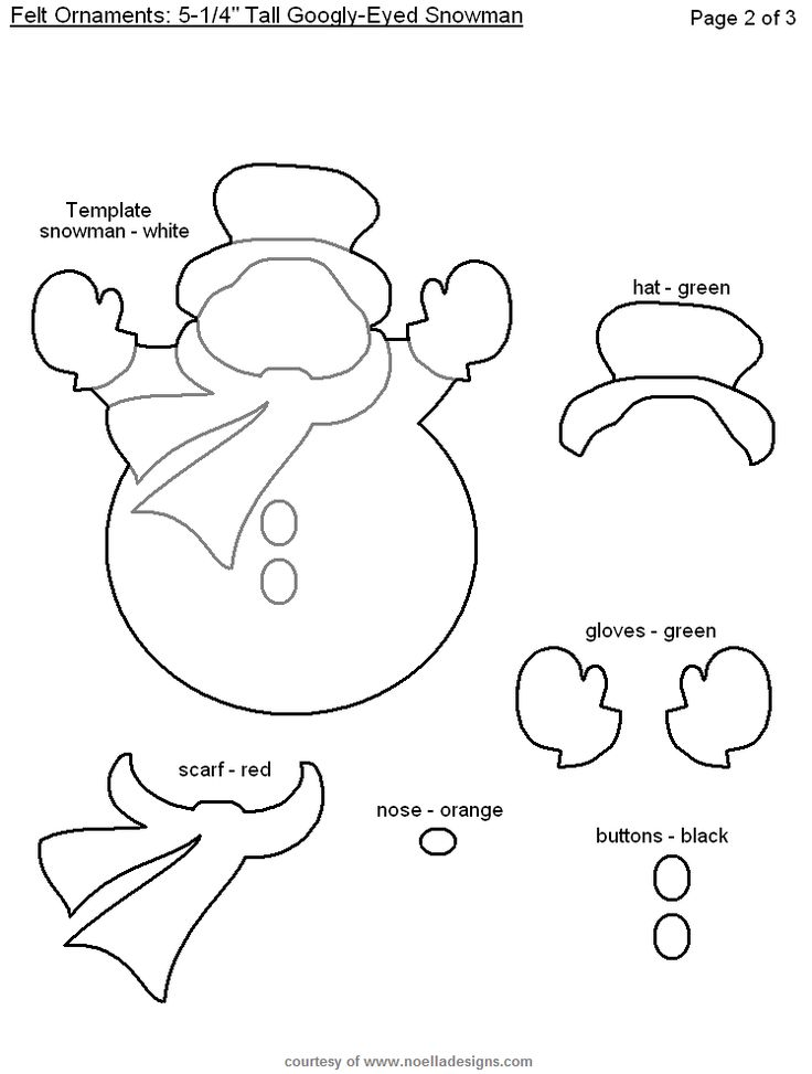 Snowman - lose the googly eyes (MVB)