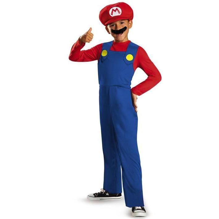 Disfraz de Mario Bros clásico para niño