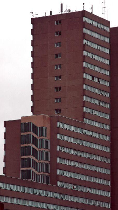 Victoria Centre flats. Nottingham, September 2016.