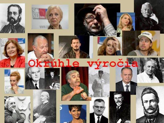 Okrúhle výročia na sobotu 8. októbra 2016 - Zaujímavosti - SkolskyServis.TERAZ.sk