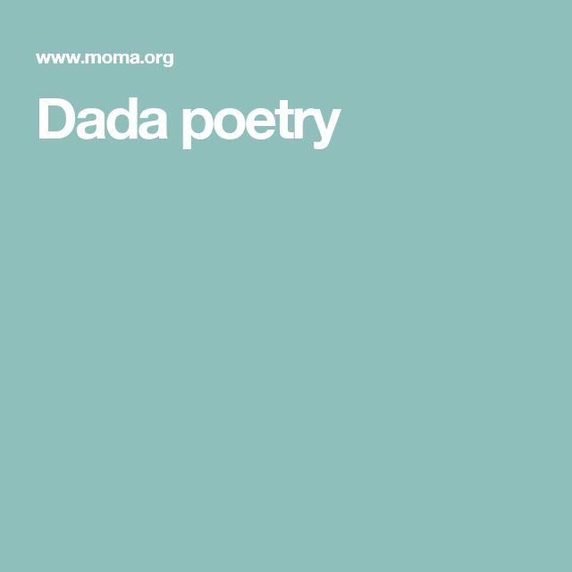 Dada poetry