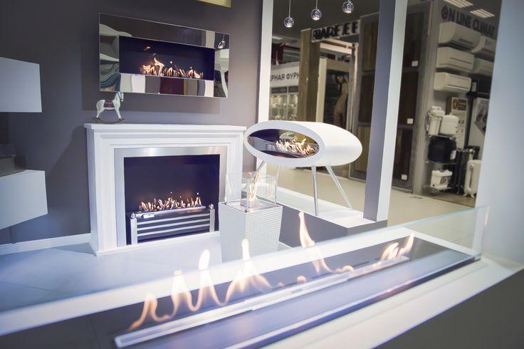 decoflame®Westminster automatic bio-ethanol fireplace