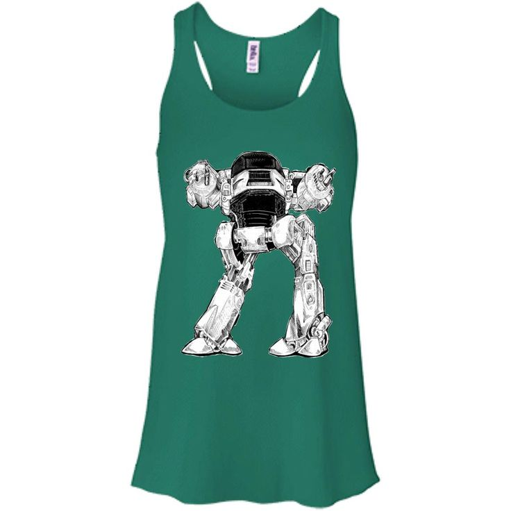 10 SECONDS TO COMPLY B8800 Bella + Canvas Flowy Racerback Tank