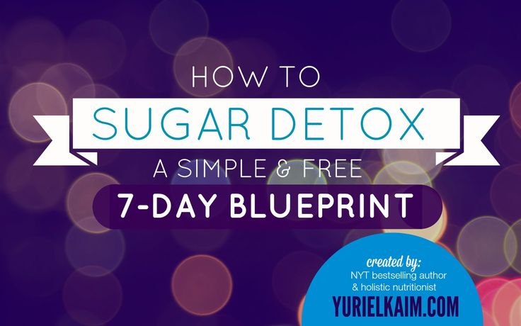 Try this 7-day sugar detox plan if sugar cravings are holding you hostage. Includes free 7-day printable to help you sugar detox safely and permanently.