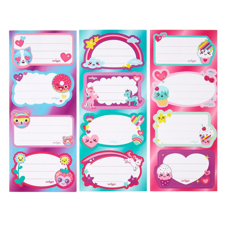 Image For Scented Sticker Label Book From Smiggle Uk