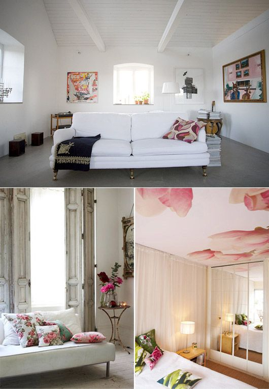 white room/white couch