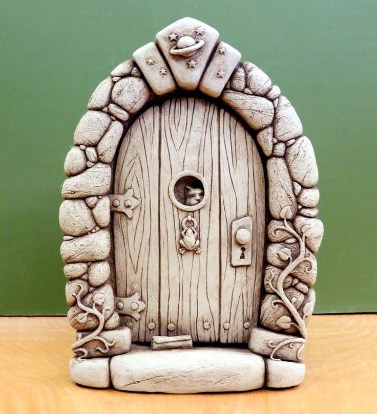Fairy Door Ideas i love the idea of a tooth fairy door will defo be doing this Stone Fairy Door By Carruth Studio