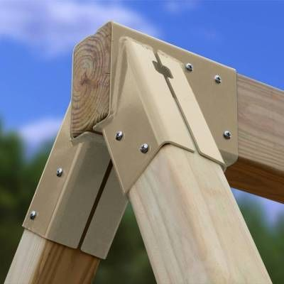 Settler Swing Beam Kit - EASY to build 3D Plans & Hardware