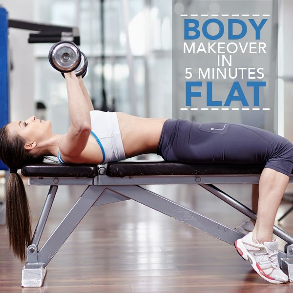 Body Makeover in 5 Minutes Flat!  #bodymakeover #fitness #workouts