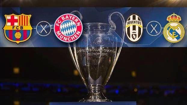 Blog Esportivo do Suíço: Semifinais da Champions marcam reencontro de Guardiola com Barça e Juventus x Real