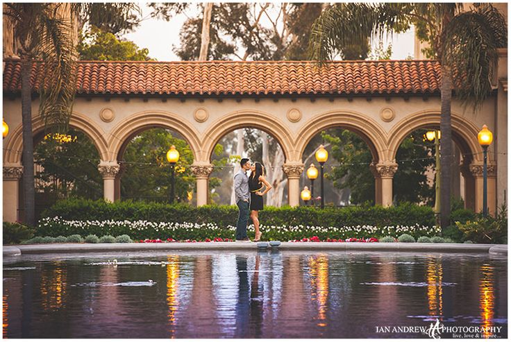 LOCATION: balboa park engagement san diego