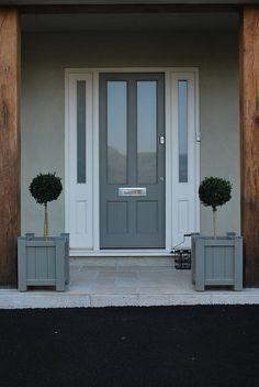 gray front door - Google Search