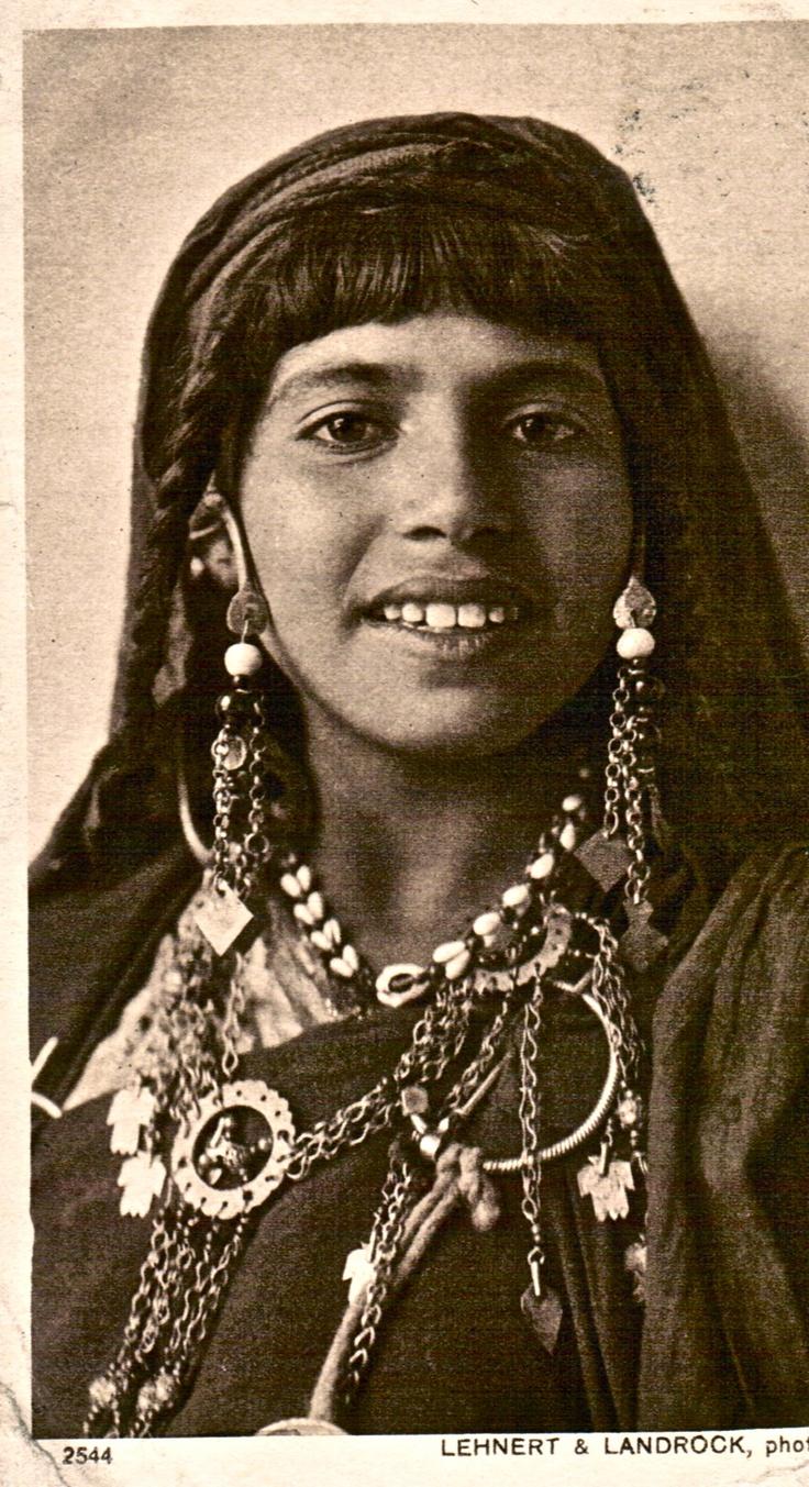 Africa: Kabyle Girl, Algeria