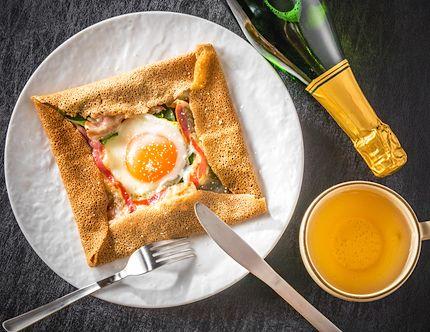 パリ気分で朝食を召し上がれ大人女子はガレットに夢中