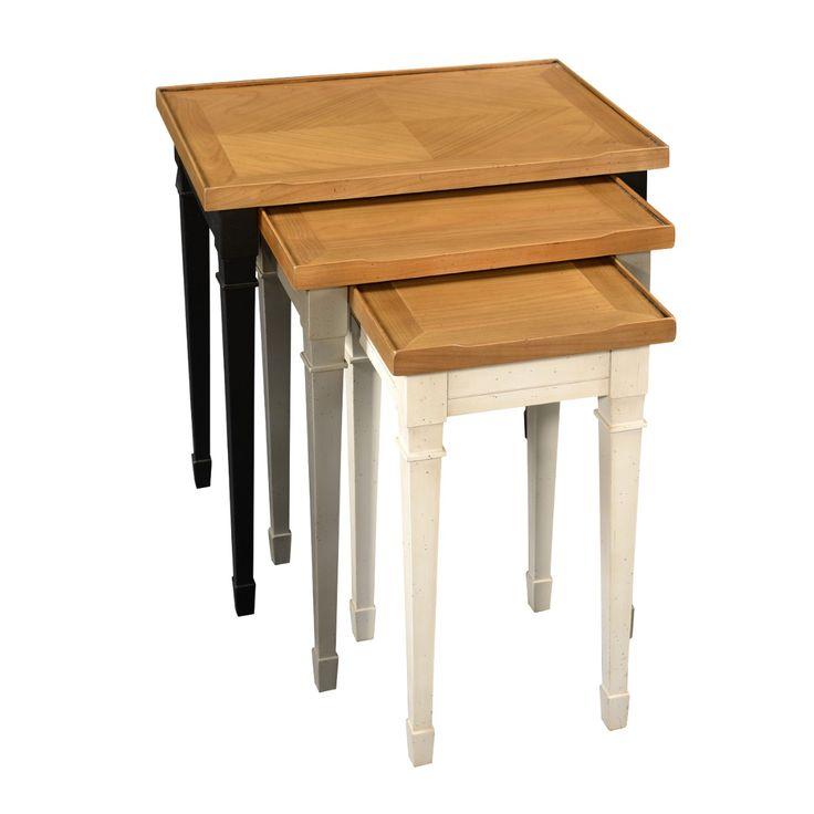 1000 id es sur le th me tables gigognes sur pinterest for 3 tables basses gigognes