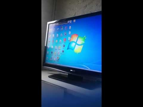 TUTO Brancher écran de PC à sa Télé en HDMI - YouTube