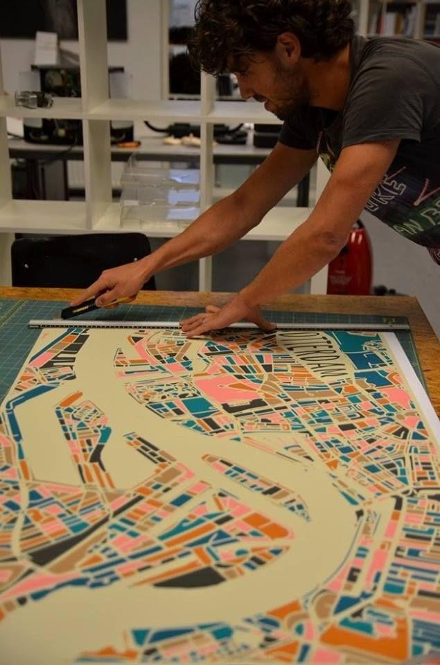 Rotterdam Retro | Online Pop-Up store voor Rotterdamse kunst
