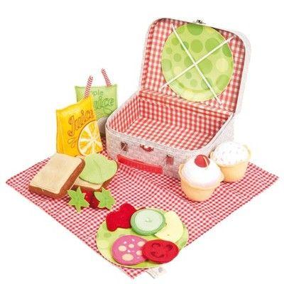 Pluszowy zestaw piknikowy Ragtales