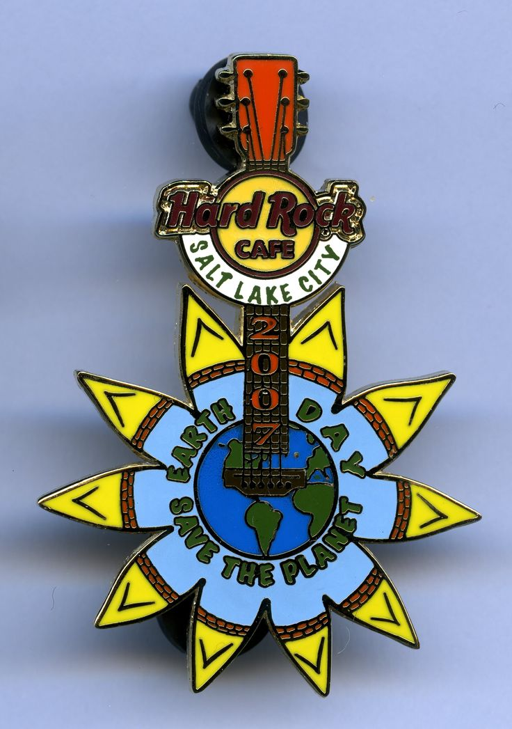 Salt Lake City - Hard Rock Cafe Guitar Pin