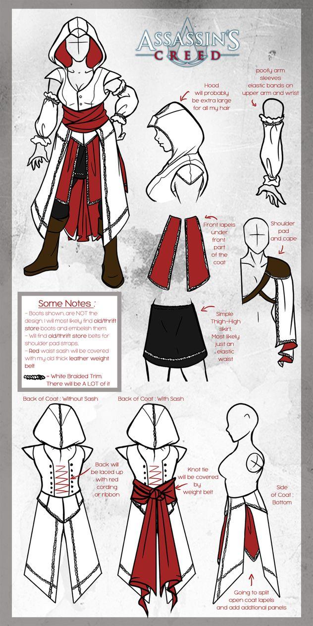 Assassin's Creed Cosplay [ Update ] by Arofexdracona on deviantART