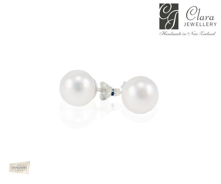 Pearl Stud - their colour will match the pearls in your other Clara pieces perfectly! - Clara Jewellery