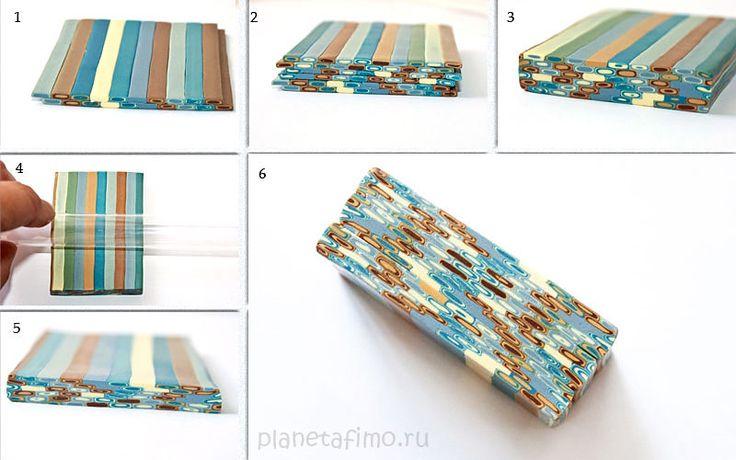 Декорирование ручки FIMO