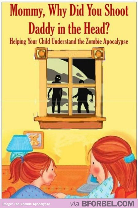 Teaching Your Kids About The Zombie Apocalypse…