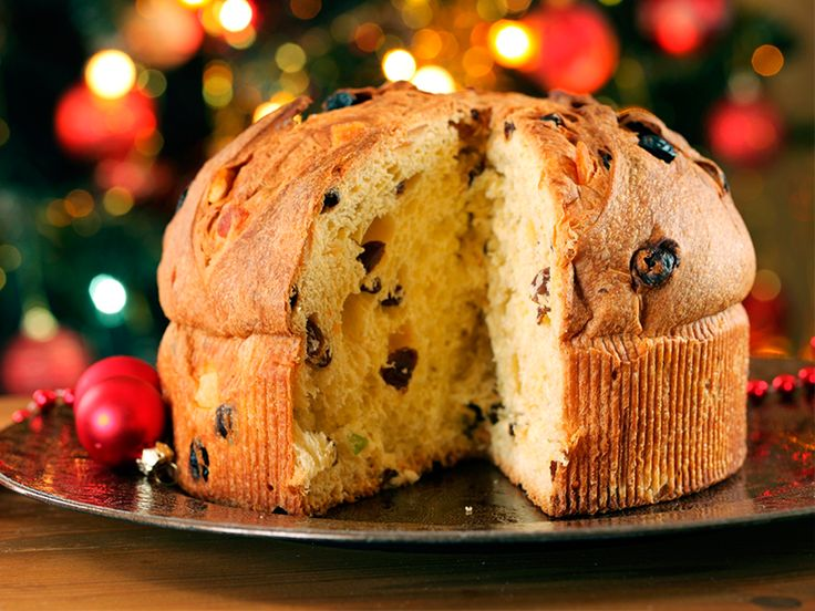 İtalya –Panettone; Yılbaşına özel, kuru meyveli İtalyan keki.