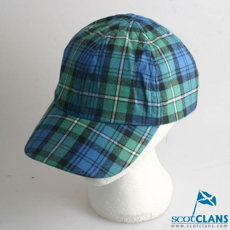 scotland football baseball cap tartan rugby hat
