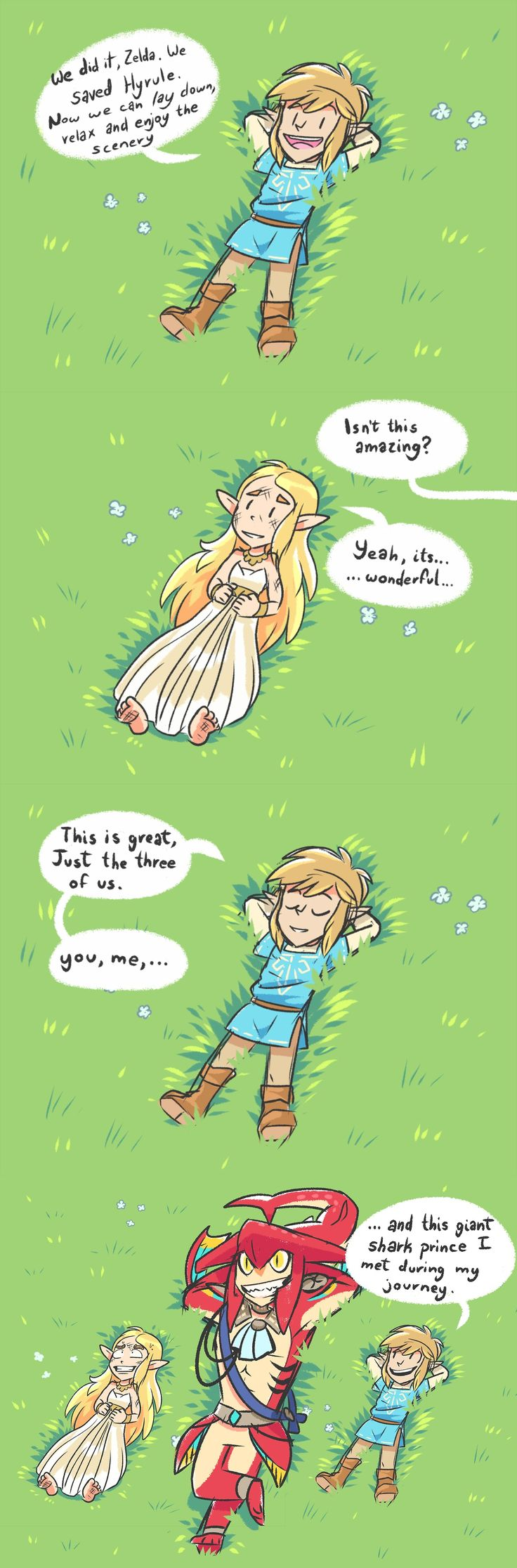 Zelda can't catch a break.