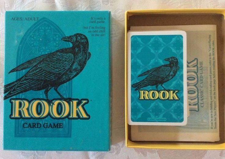 ROOK Classic Card Game 2001 Edition Parker Brothers Hasbro 8 Yrs+  #ParkerBrothers
