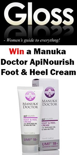 Win a bottle of #Manuka #Doctor #ApiNourish Foot & Heel Cream! #competition