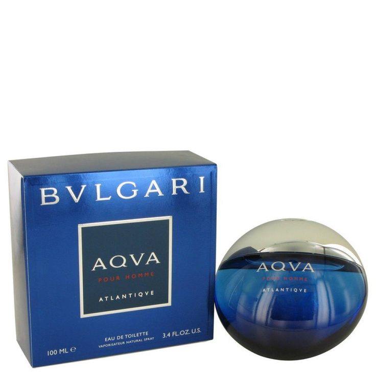Bvlgari Aqva Atlantique De Toilette Spray 3.4 Oz