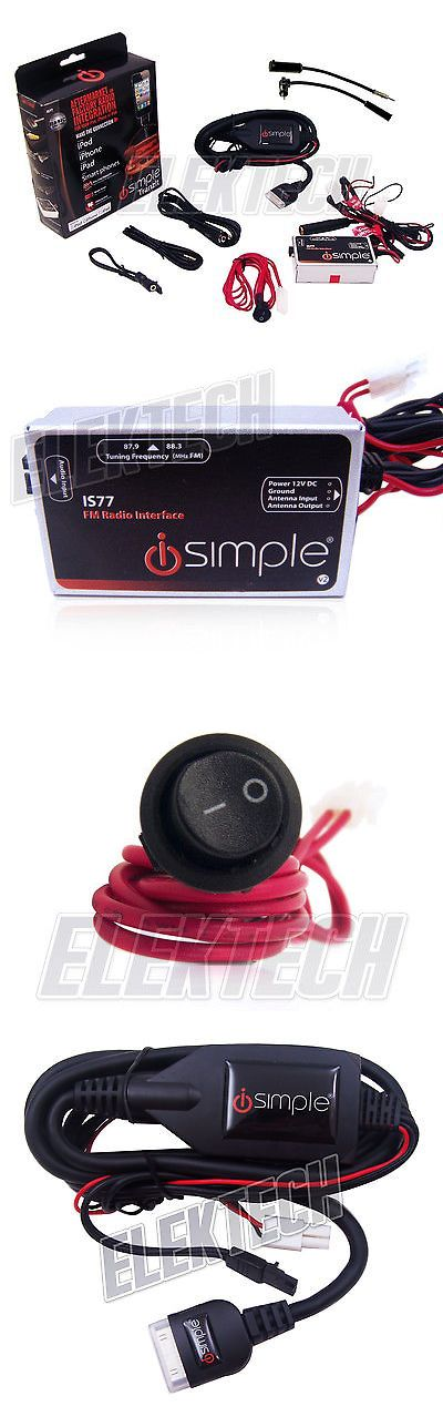 FM Transmitters: Isimple Is77 Tranzit Universal Fm Radio Adapter Modulation Kit For Apple Iphone -> BUY IT NOW ONLY: $53.95 on eBay!