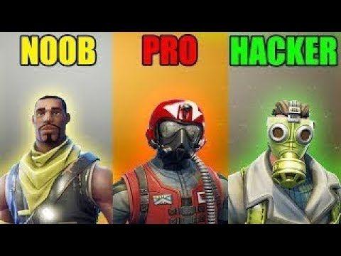 Noob Vs Pro Vs Hacker Fortnite Battle Royale Br 33 Gaming