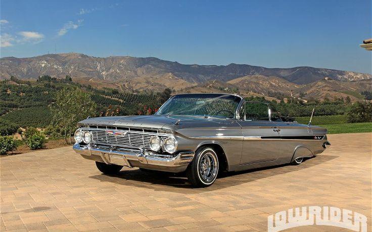 1961 chevrolet impala convertible front left side view. Black Bedroom Furniture Sets. Home Design Ideas