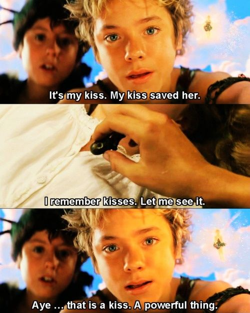 Movie Quotes About Kissing: 631 Best Images About Peter Pan