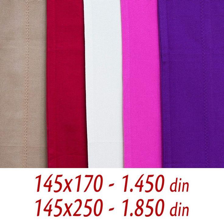 [ ON LINE SHOP ] Zavesa draper Mrežasta - 145x170 (1.450 din)- 145x250 (1.850 din) Poručivanje putem ON LINE SHOP-a ili putem tel. 011/630-8420 - besplatna dostava http://www.orientemporium.net/product-category/kucni-tekstil/zavese/
