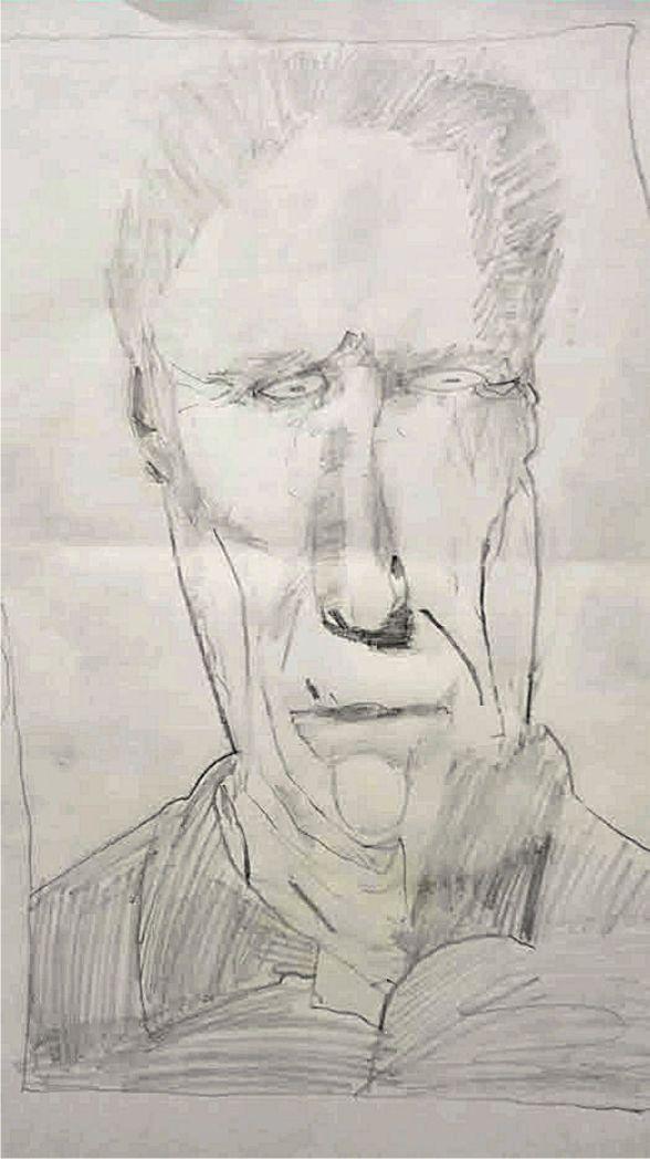 Pavlík (3.tř. ZŠ) si kreslil