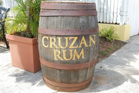 The Cruzan Rum Distillery in St. Croix.  Guides will teach you about the rum making process and taste samples of your favorites.