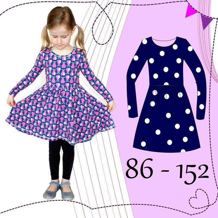 eBook AnniNanni kleine Ballerina-Kleid - Nähanleitungen bei Makerist