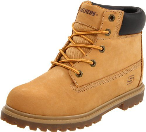 Skechers Kids 93151L Mecca Lumberjack Lace Up Boot ** Click on the image for additional details.