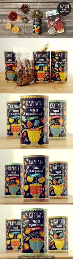 """""""Karpaty"""" tea and is Ukrainian for the Carpathian Mountains PD"""